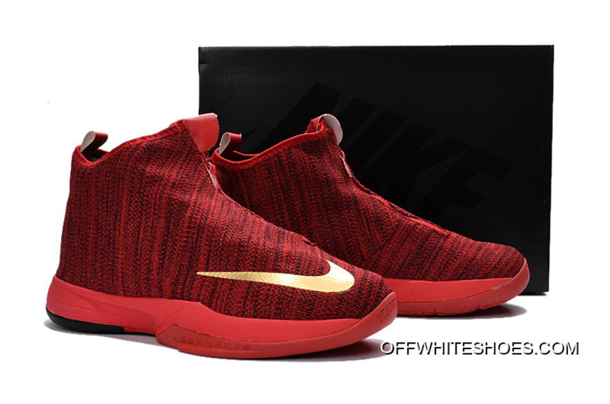 brand new 317e3 753ed ... mens lifestyle shoes d7aa2 fef5a  promo code for off white authentic nike  zoom kobe icon university red metallic gold 466b5 81ca3