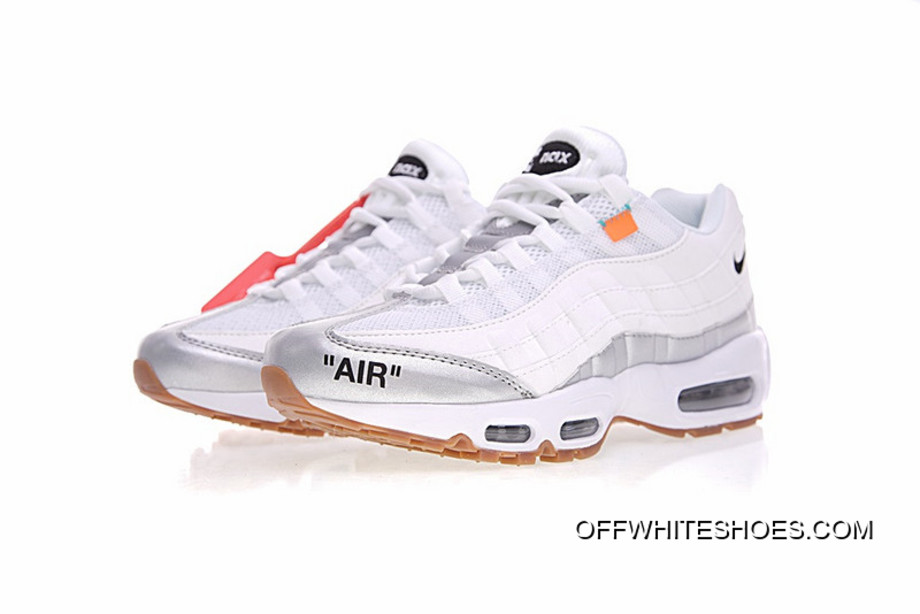 finest selection 1328f 83e2f Virgil Abloh OFF White X Nike Air Max 95 OW 609048-109 Authentic