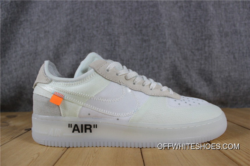 78c4387c945a 2nd OFF-WHITE X Nike Air Force 1 Low Top Deals