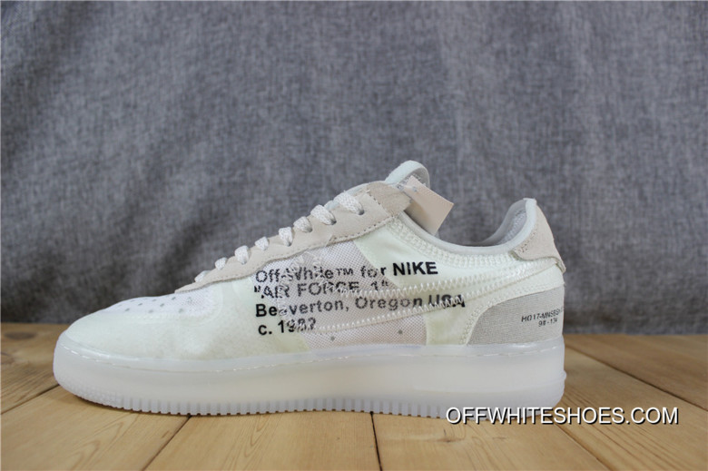 1b9bbbc0688961 2nd OFF-WHITE X Nike Air Force 1 Low Top Deals
