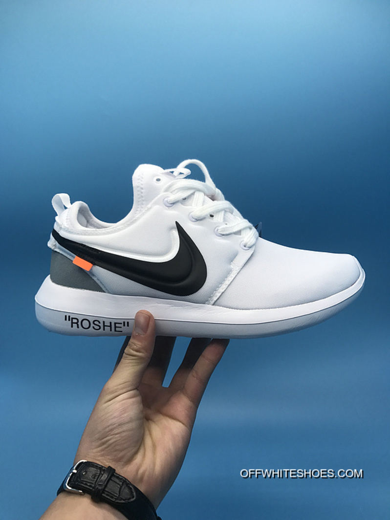 e65273c668910 London Running Shoes Nike Roshe Run X Off-White Joint Series Latest ...