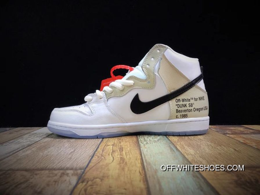 new arrivals bdc6a 6df0a Men Off White X Nike SB Zoom Dunk High Pro SKU:132160-237 Top Deals