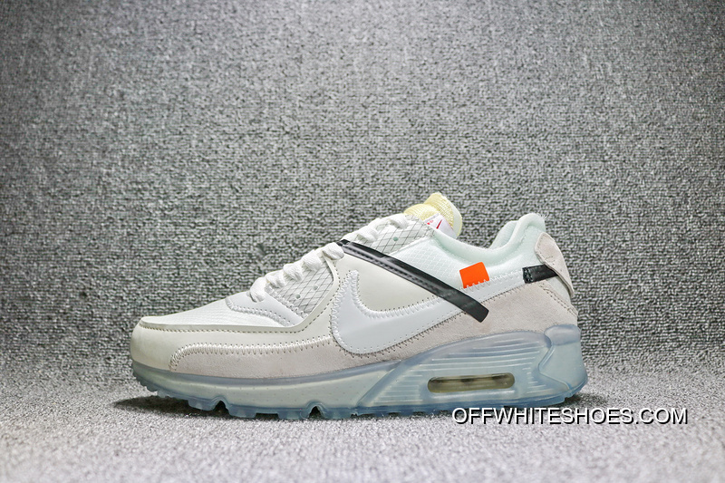 Best 39 46 Sku Aa7293 100 Off White X Nike Air Max 90 Ofw Off90 Classic Running Shoes With Limited Zoom