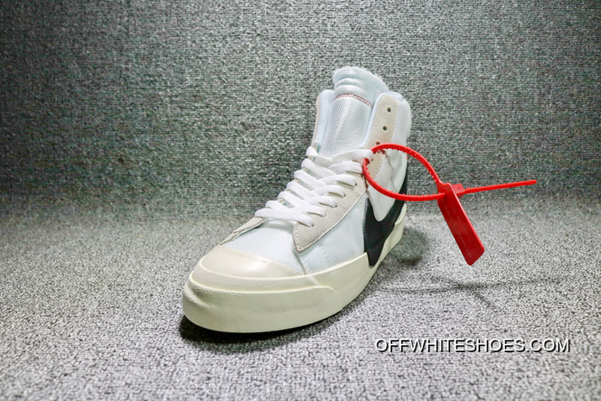 All Sizes Sku Aa3832 100 Off White X Nike Blazer Mid Ow 0Ff Sneakers Limited Free Shipping