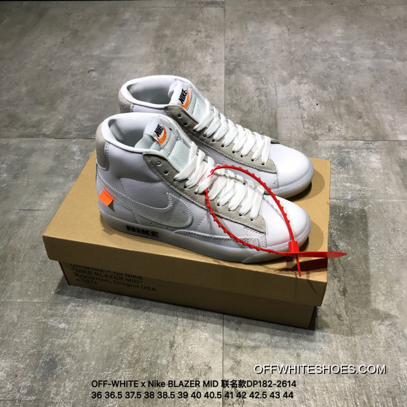 official photos a9faa 09ba5 ... new style off white x nike blazer mid joint publishing high dp182 2614  super deals cda70 ...
