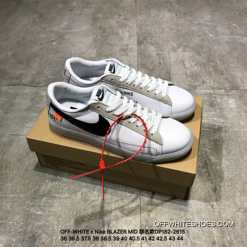 quality design a76f4 70729 Discount OFF-WHITE X Nike BLAZER MID Joint Publishing DP182-2614