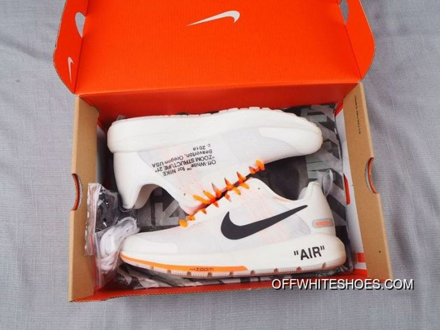 393f6dca7ffc Latest Men OFF-WHITE Virgil Abloh X Nike Air Zoom Structure 21 SKU 155520