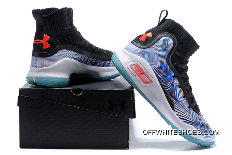 """Under Armour Curry 4 """"More Magic"""" Multi-Color Off-White New Release ... 101209bf40"""