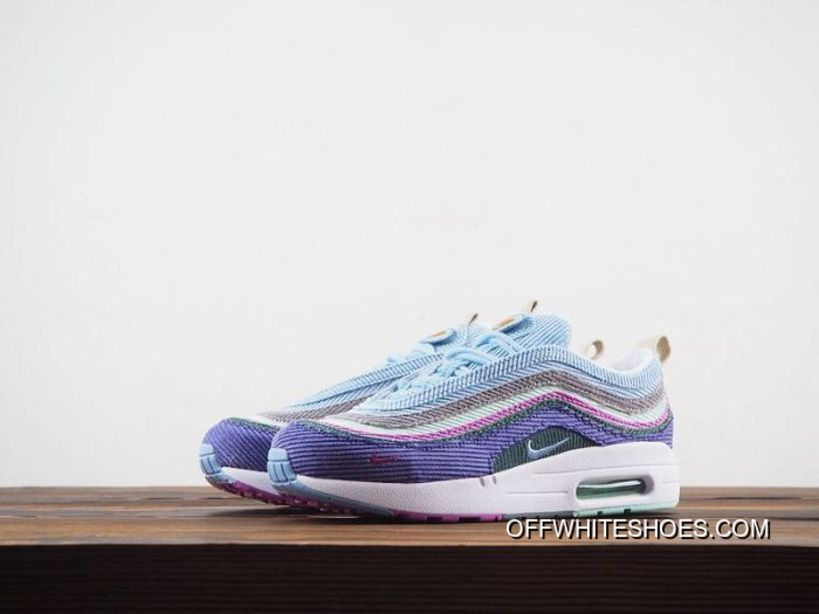 For Sale Women Sean Wotherspoon Nike Air Max 97 Hybrid SKU:51565 264