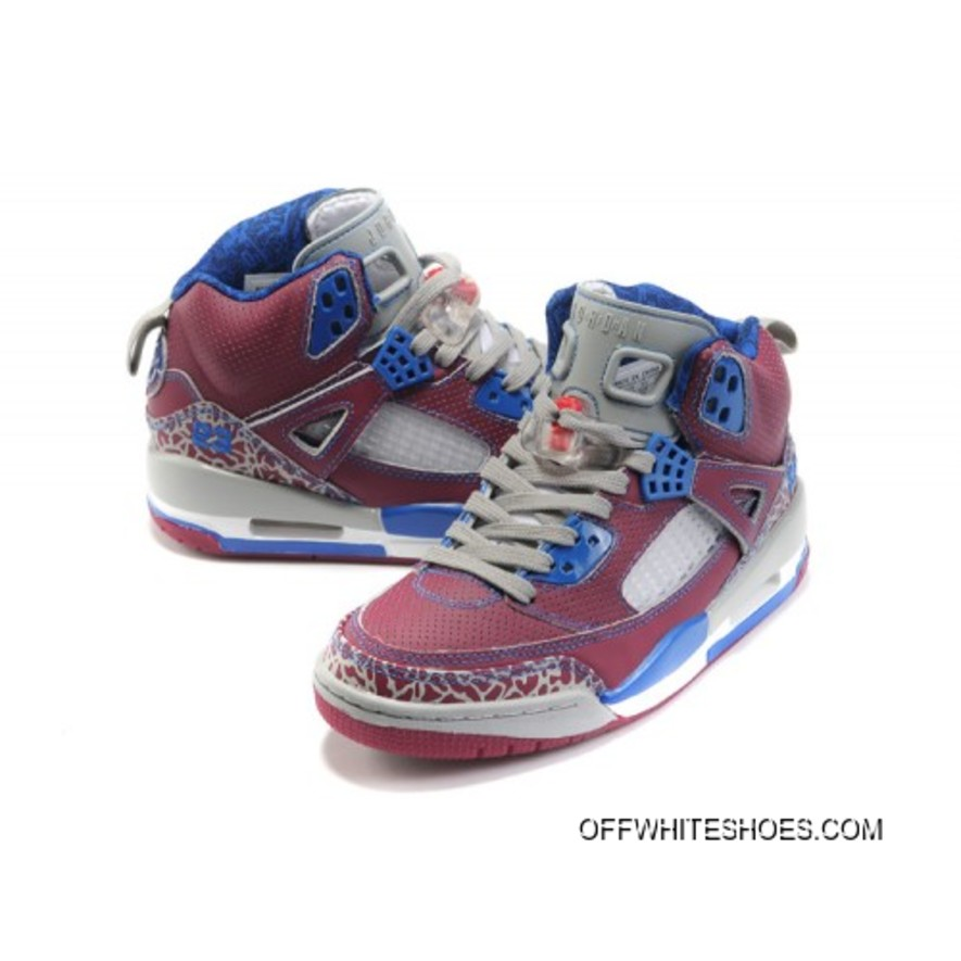 Jordan Spizike Women Basketball Shoes white grey wine A24046